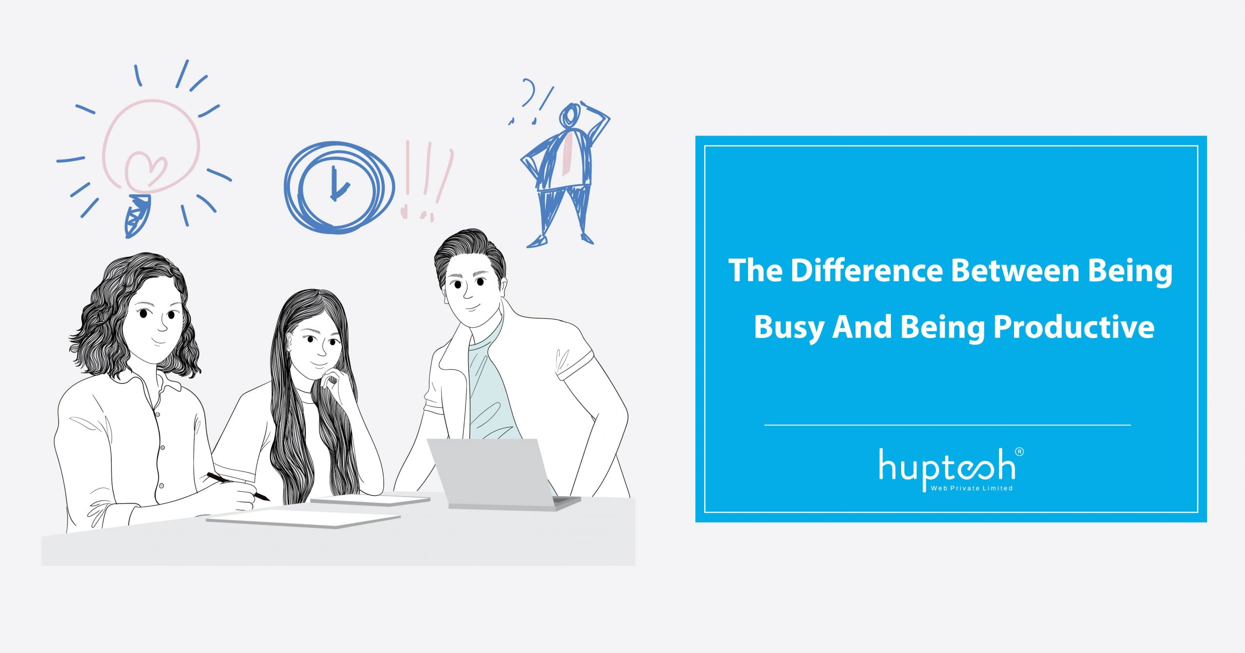 Difference Between Being Busy And Being Productive
