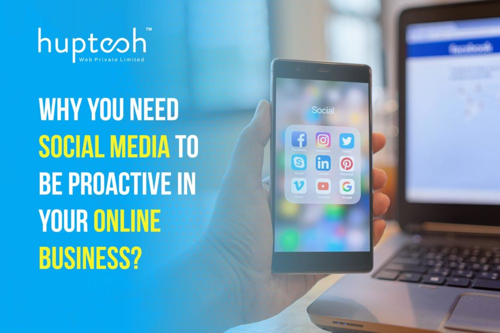 Social Media Marketing - Huptech Web