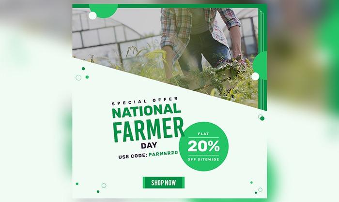 National farmer day